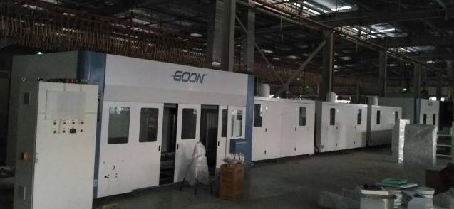 UV CNC Spraying line